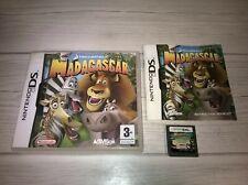 Nintendo DS Madagascar Dreamworks Complete Genuine UK PAL VGC