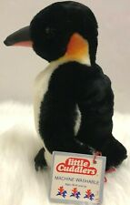 Douglas Little Cuddlers Emperor Penguin Plush Stuffed Animal Korea Vintage Rare
