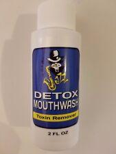 Jazz Total Detox Mouthwash - Unflavored - 2 oz - Toxin Remover