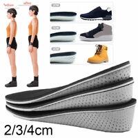 2/3/4cm Erhöhen Schuheinlage Höhe Einlegesohlen Pad Fersenerhöhung Fersenkissen
