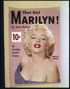 Marilyn Monroe Vintage Que Fille Revue Housse 5x4 Transparence Slide