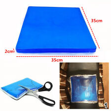 Universal Gel Pad Motorcycle Seat Cushion Mat Trim Shock Absorption 35x35x2cm