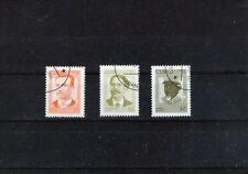 QBA 1996 série de 3 timbres patriotes