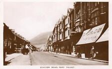 Station Road Port Talbot Nr Neath unused RP old pc