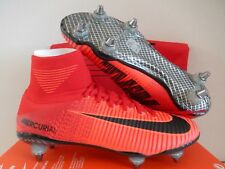 NIKE MERCURIAL SUPERFLY V SG PRO PROMO UNIVERSITY RED-BLACK SZ 9 [845050-617]
