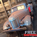 Model American Truck Toy Jiefang Ca10 Car Pick Up Metal Alloy 1:32 Scale