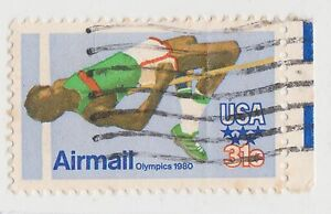 (UST-498) 1982 USA 31c HIGH JUMP Air Mail (BD) (space filler)