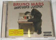 BRUNO MARS CD Unorthodox Jukebox PRENTAL Vers. New Locked Out Of Heaven Young