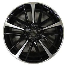 "19"" Toyota Camry XSE V6 2018 Factory OEM Rim Wheel 75222 Gloss Black Machined"