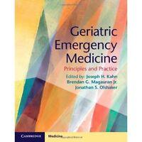 Geriatric Emergency Medicine Principles P. 9781107677647 Cond=LN:NSD SKU:3197123