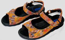 WOLKY 'Pichu' Strappy Sandal 'Bourbon' Multi Color EU 36/ US 5.5-6