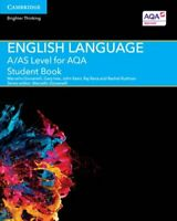 A/AS Level English Language for AQA Student Book 9781107465626 | Brand New