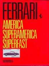 América Ferrari Superamerica Superfast libro out-of-print