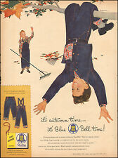 1953 Vintage ad for Blue Bell Play Clothing`Art Children Tree Jeans(060217)