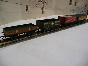 PECO lot of 4 private owners wagons.Mint condition