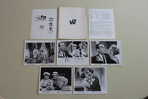 KISSES FOR MY PRESIDENT - press kit 4 photos Fred MacMurray Polly Bergen 1964