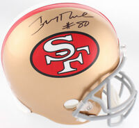 Jerry Rice Signed San Francisco 49ers Full Size Helmet Steiner