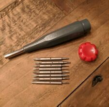 Micro-precision screwdriver set small lightweight self contained