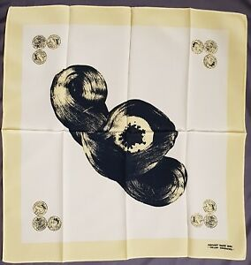 Rare original Helen Chadwick silk scarf multiple artwork