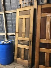 Antique Set Pocket Doors. Pine And Oak. 30� X 90� X 1.75