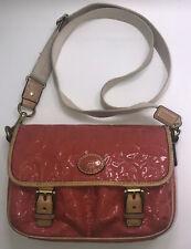 Coach crossbody Coral patent leather adjustable strap Handbag Purse