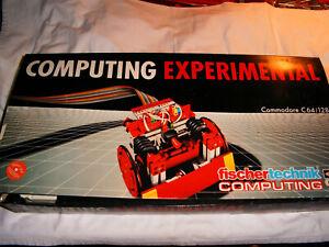fischertechnik Baukasten Computing Experimental, OVP mAnleitung, vollständig!C64