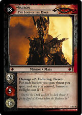 LOTR TCG Reflections 9R+48 Sauron The Lord Of The Rings Foil Card GEM MINT unply