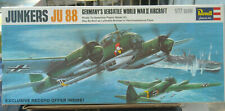 Revell Junkers Ju 88 bomber or recon 196 kit H-113 complete 1:72 scale NIB