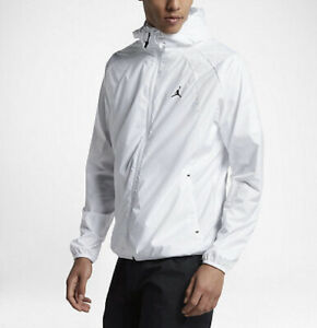Nike Air Jordan 'Wings' Windbreaker 897884-100 Size XL Men's Summit White/Black