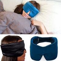 100% Soft Mulberry Pure Silk Sleeping Eye Mask Deep Sleep Traveling Home Flight