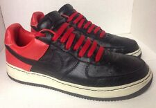 Rare NIKE Air Force 1 UNMITA Low Inside/Out Blk/Blk Max Orange US 13