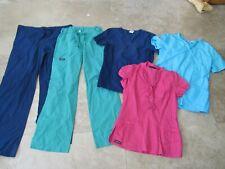 Lot, 5 womens size Xs scrubs, pants, tops, Cherokee