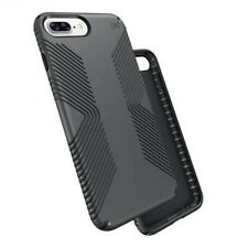 Speck iPhone 7 Plus Presidio GRIP Shockproof Case Graphite Grey/Charcoal Grey+TP