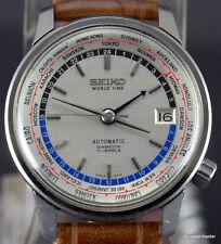 Rare Seiko 6217-7000 1964 Seiko World Time Tokyo Olympics Automatic Serviced