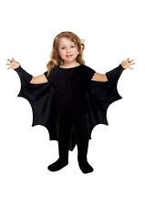 Halloween Bat Cape Wings 2-3 Years Kids Fancy Dress Unisex Toddlers Costume 330