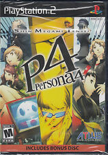 Shin Megami Tensei Persona 4 PS2 Sony PlayStation 2 Brand New Sealed