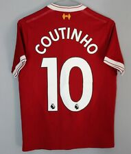 LIVERPOOL ANFIELD 125 YEARS 2017 2018 HOME SHIRT JERSEY NEW BALANCE #10 COUTINHO