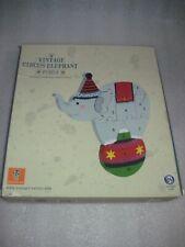 New Vintage Circus Elephant Puzzle Numbered Pieces Orange Tree Toys 2016