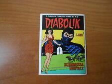 figurina DIABOLIK n.218 -ed.SUPER RAF