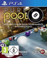 PS4 Spiel Pure Pool Billard NEU&OVP Playstation 4