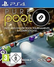 Ps4 Game Pure Pool Billiard PlayStation 4