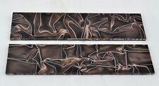 "KIRINITE DESERT CAMO 3/8"" Scales for Knife Making Woodworking Bushcraft Inlays"