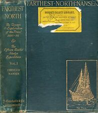 DR FRIDTJOF NANSEN FARTHEST NORTH VOL.1 THE NORWEGIAN POLAR EXPEDITION HB 1897
