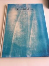 Signed Art Random Ross Bleckner Hardcover 1990