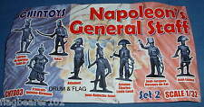 CHINTOYS cht003 NAPOLEON'S GENERAL STAFF #2. 1/32 SCALE FIGURES. 55-60mm