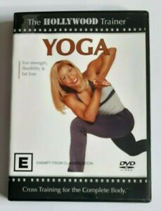 Yoga The Hollywood Trainer  PAL DVD R4 VGC