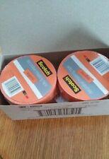 "Scotch Decorative Masking Tape 0.94""X 20 Yards-Tangerine Lot of 6 Rolls"