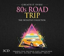 80S ROAD TRIP-GREATEST EVER (Tears for Fears, Yazoo, Thompson Twins) 3 CD NEW!