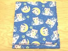 Cats Kittens Moons Stars Clouds Baby Blanket Can Be Personalized 36x40