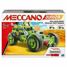 Meccano Junior Deluxe Buggy Vehicle Including EasyTo-Follow Instructions 2 Tools